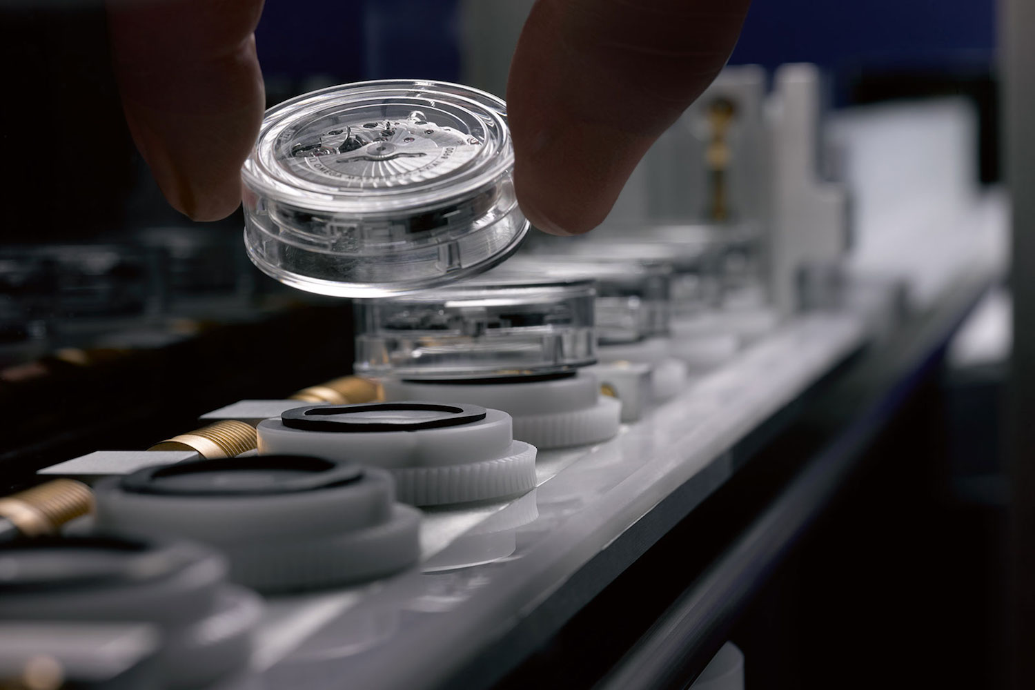 Inside Omega Master Chronometer Metas facilities - video documentary