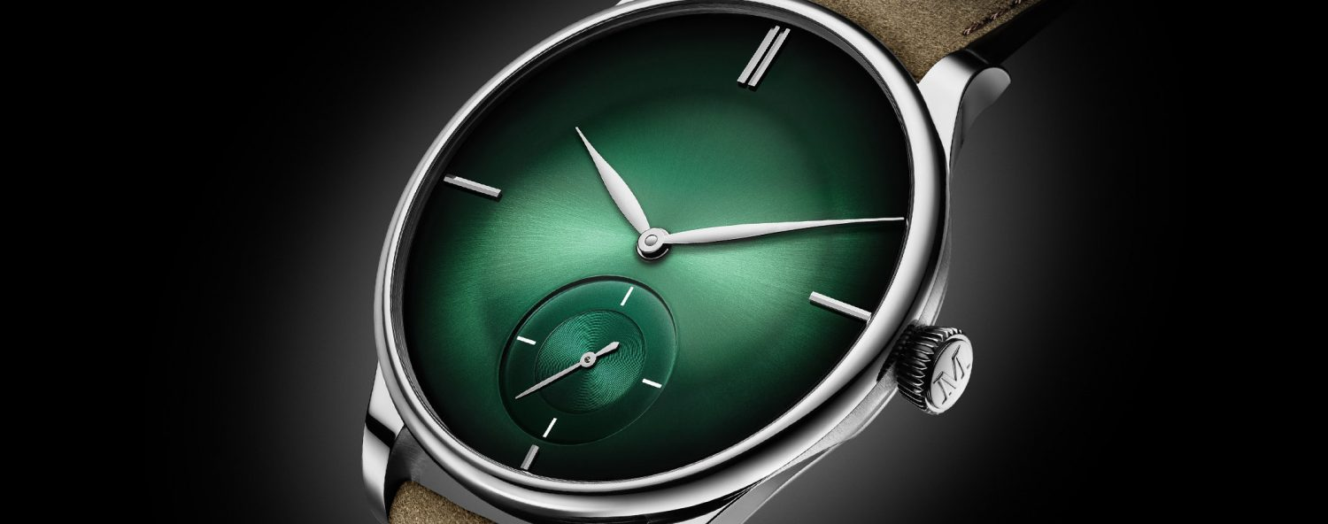 Pure… In Green – Introducing the H. Moser & Cie. Venturer Small Seconds XL Purity Cosmic Green