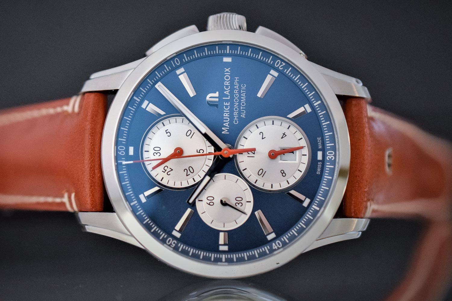 Pre-Baselworld 2017 – New Versions for The Maurice Lacroix Pontos Chronograph and Pontos Day-Date