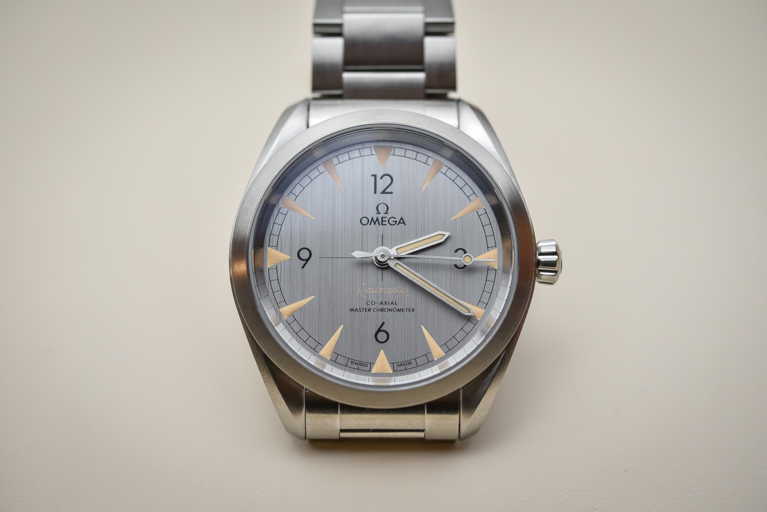 Omega Railmaster Master Chronometer Collection ...