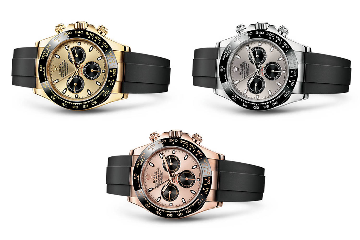 baselworld 2017 rolex daytona gold ceramic with. Black Bedroom Furniture Sets. Home Design Ideas