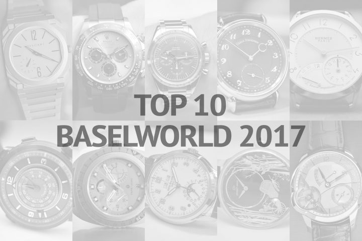 Top 10 of Baselworld 2017 Xavier Markl