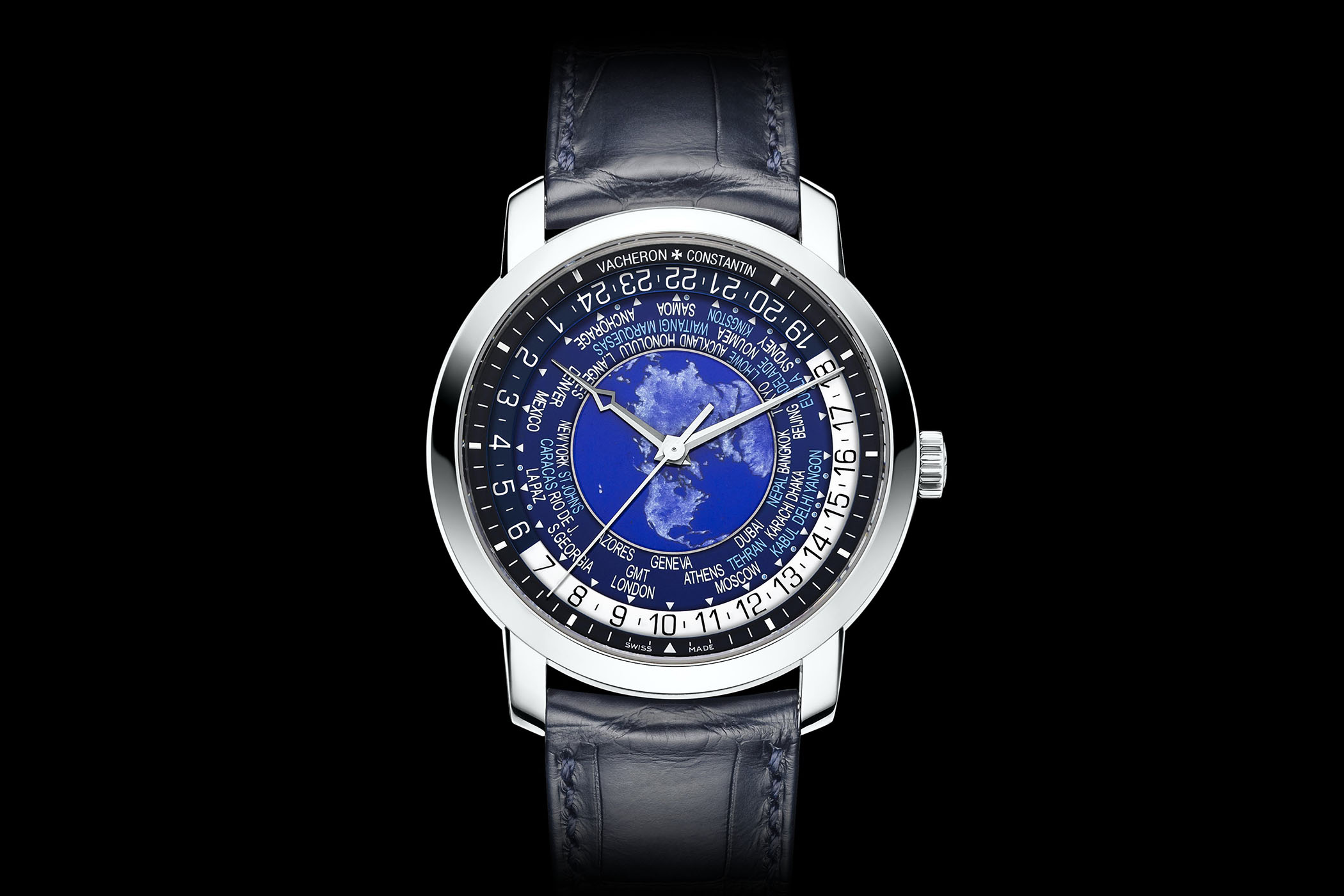 pre owned worldtime complications time patek world watches philippe