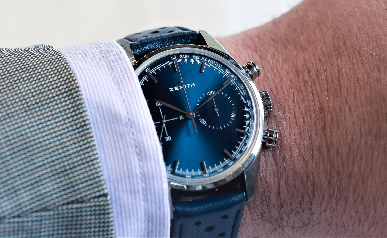 The Very-Retro Zenith Heritage 146 Chronograph El Primero (and why it just rocks…)