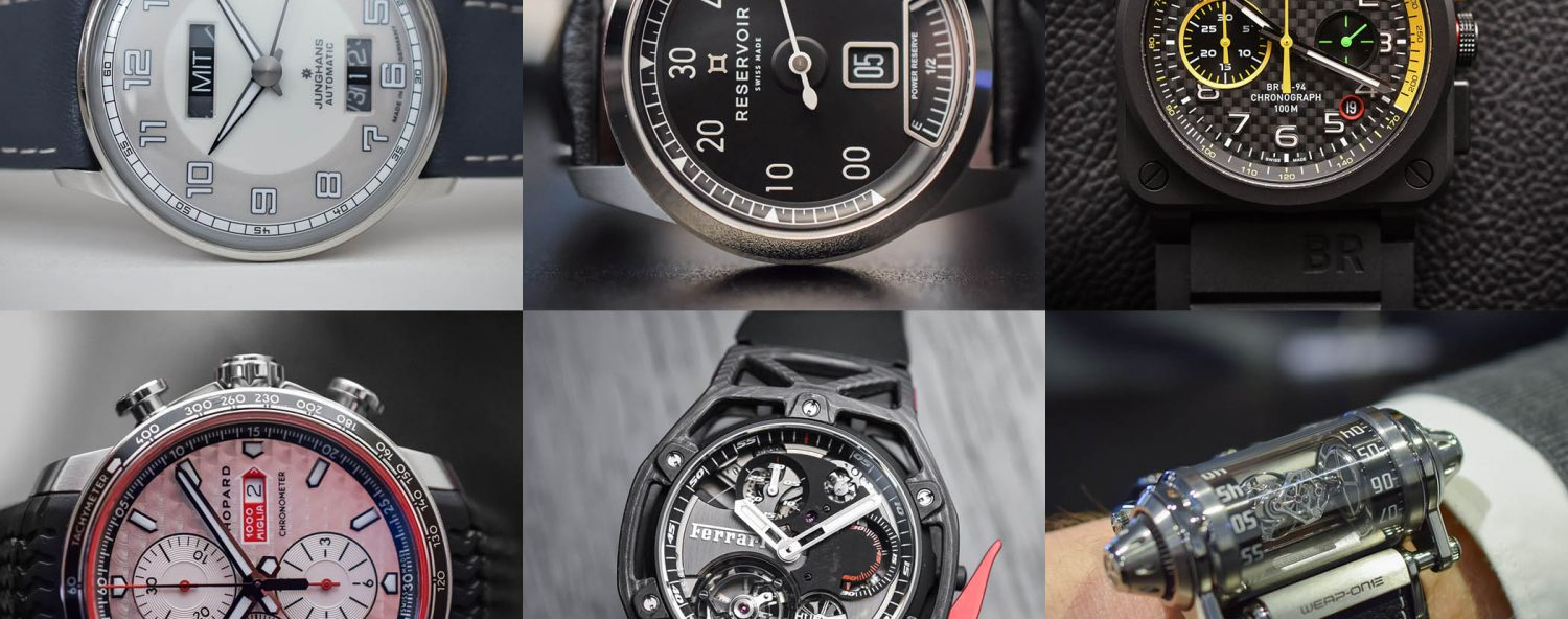 6 car-inspired watches baselworld 2017