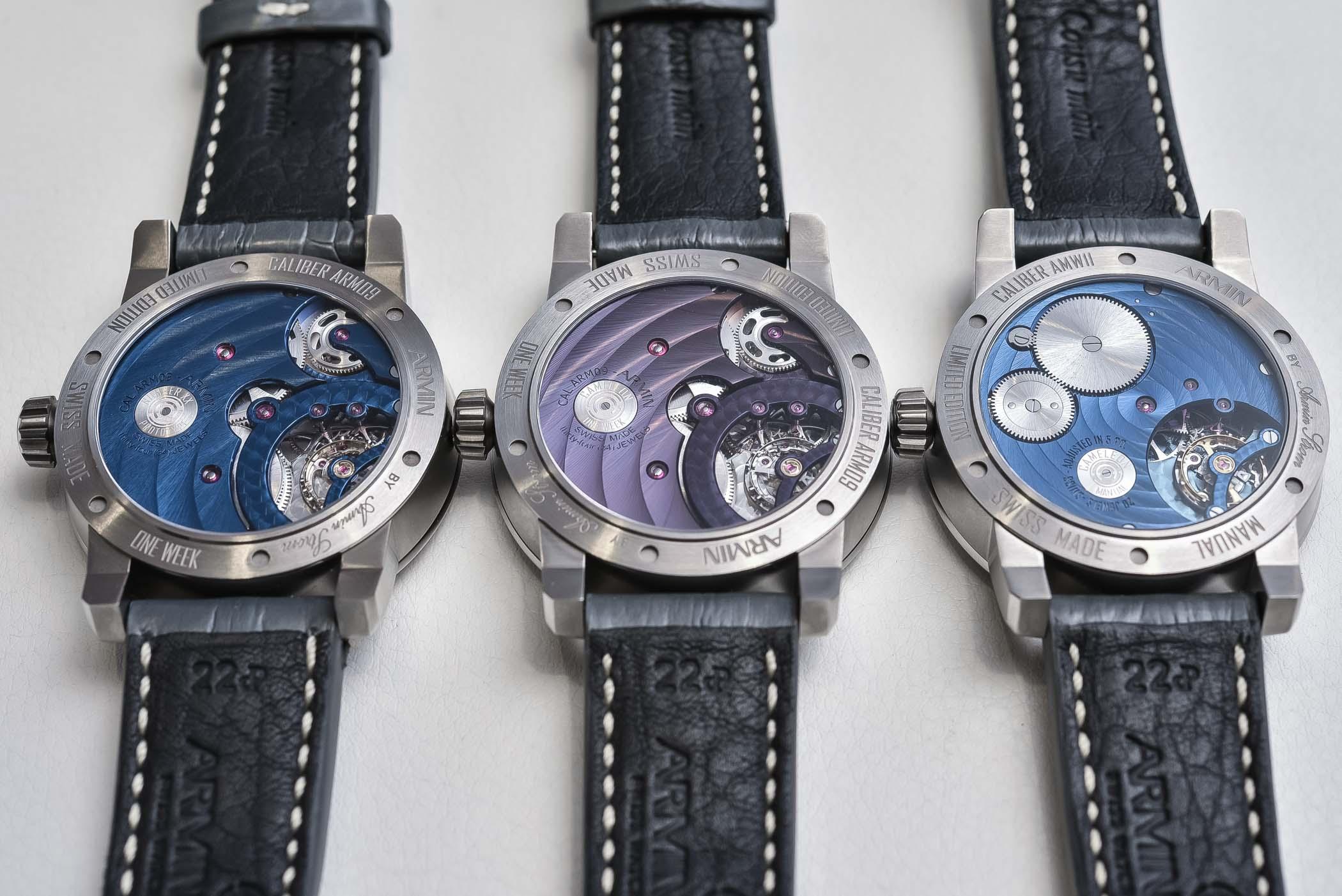 Armin Strom Watch Configurator