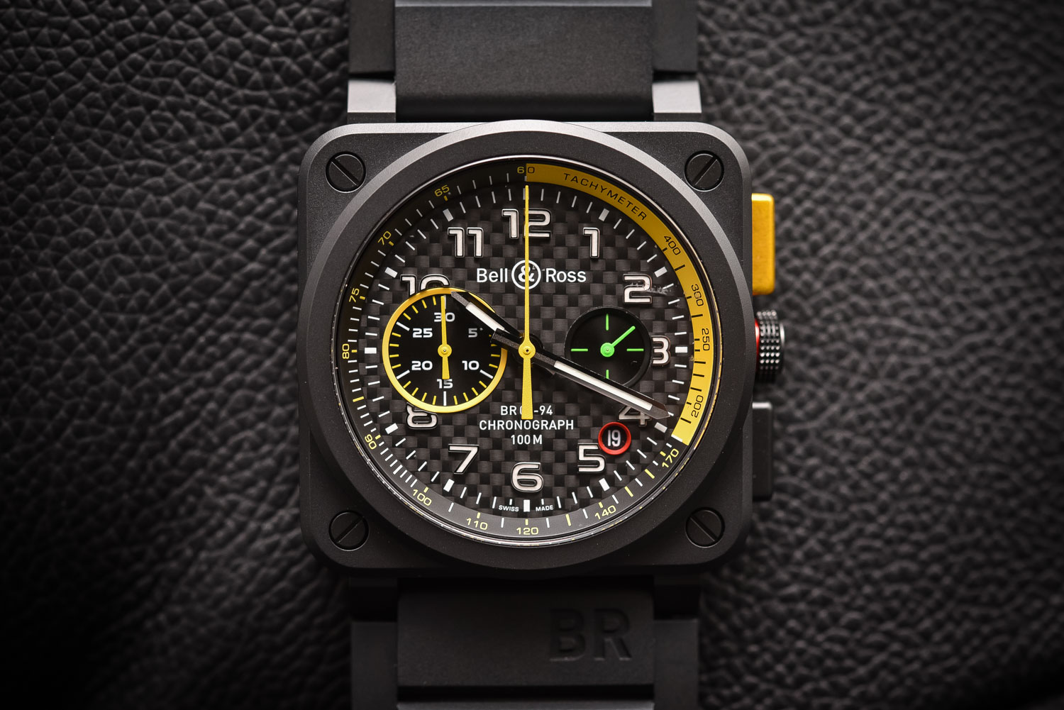 monochrome racing techframe auto from baselworld inspired watches chronograph ferrari hublot tourbillon car