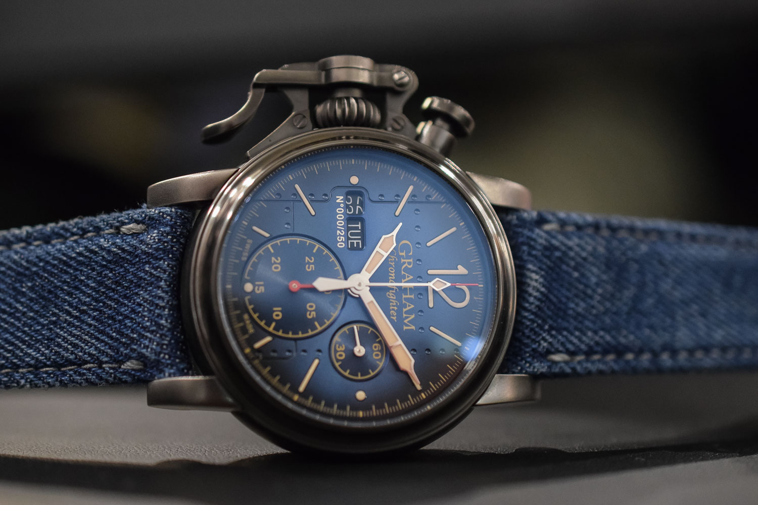 Graham Chronofighter Vintage Aircraft Ltd - Baselworld 2017