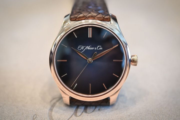 H. Moser & Cie. Endeavour Centre Seconds Automatic - Baselworld 2017