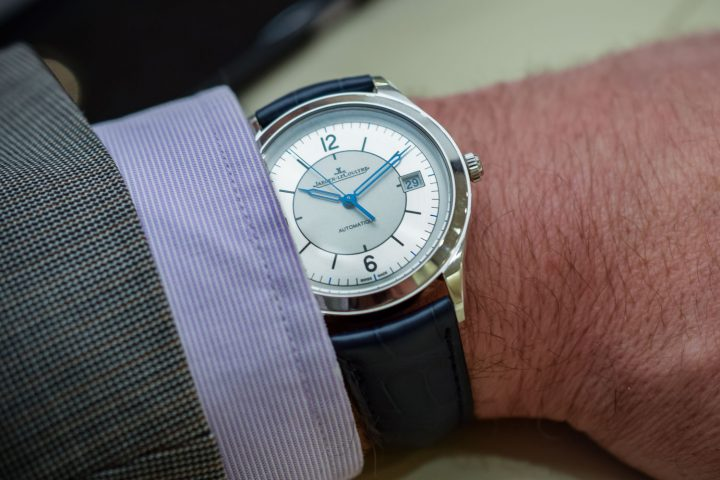 Jaeger-LeCoultre Master Control Date Sector Dial