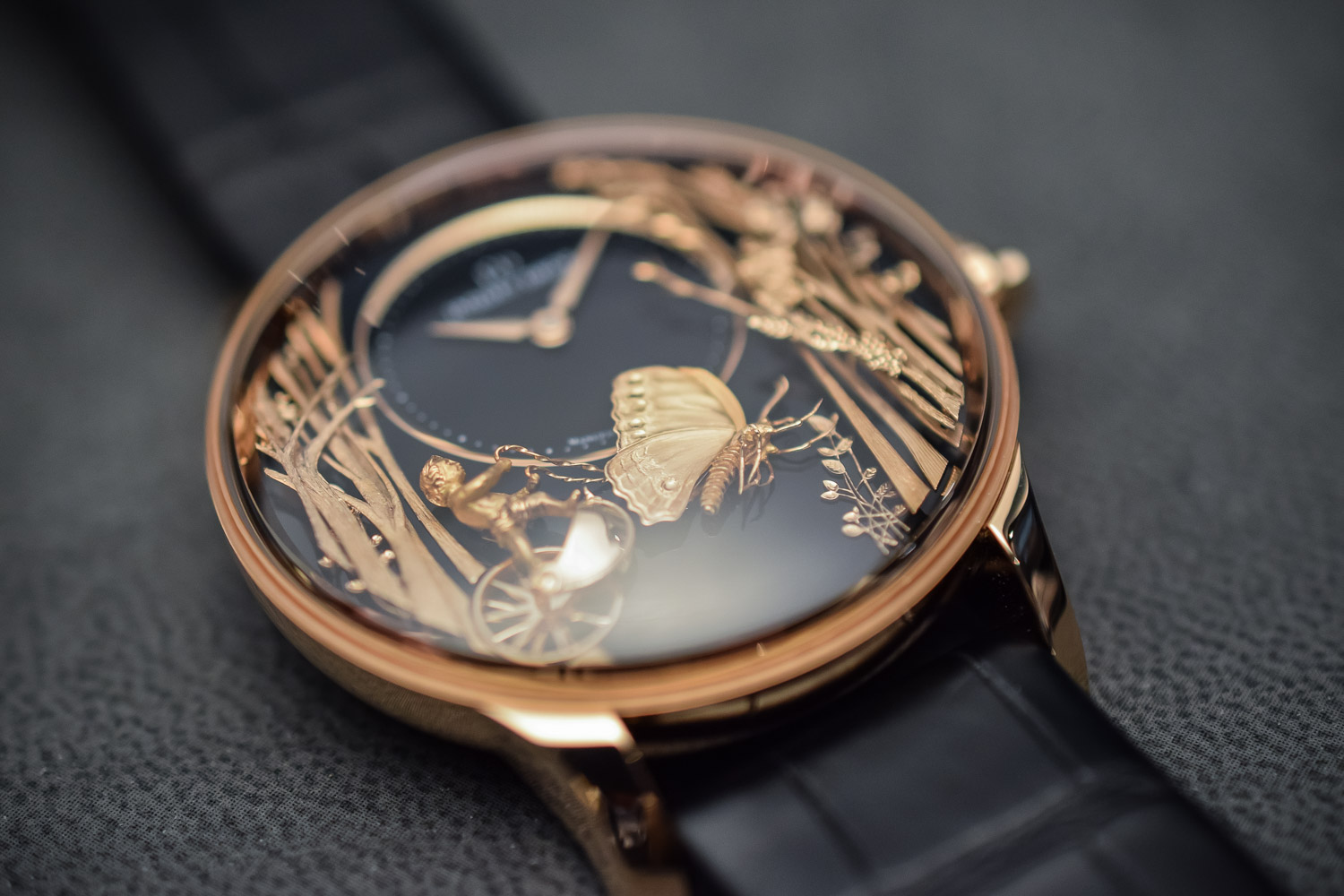 The Beauty of Automatons by Jaquet Droz, with the Loving Butterfly (Video)