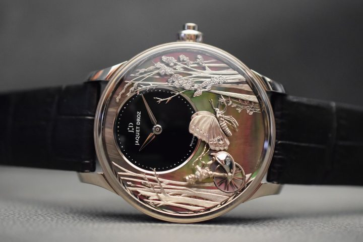 Jaquet Droz Loving Butterfly Automaton - Baselworld 2017