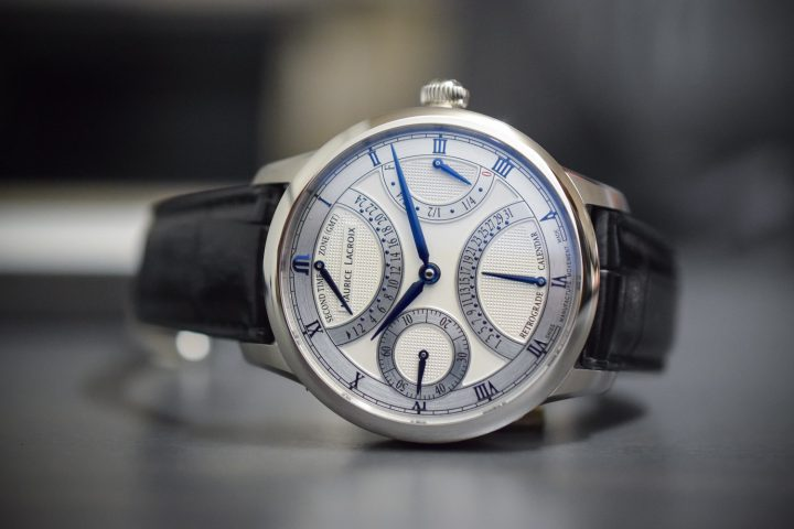 Maurice Lacroix Masterpiece Double Retrograde