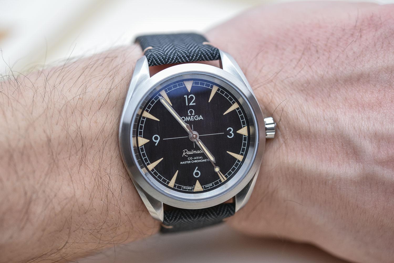 Omega Railmaster Master Chronometer - Top 10 Baselworld 2017
