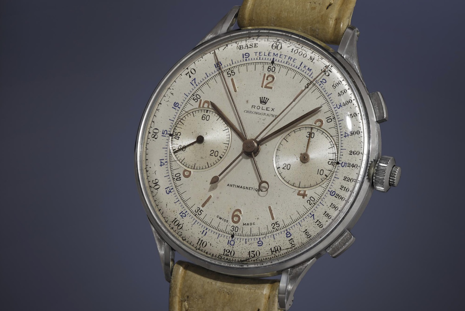Rolex 4113 Rattrapante Chronograph - credit phillips