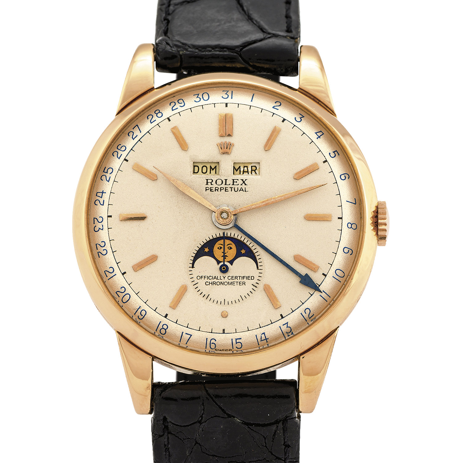 Rolex 8171 Moonphase padellone - Source: Antiquorum