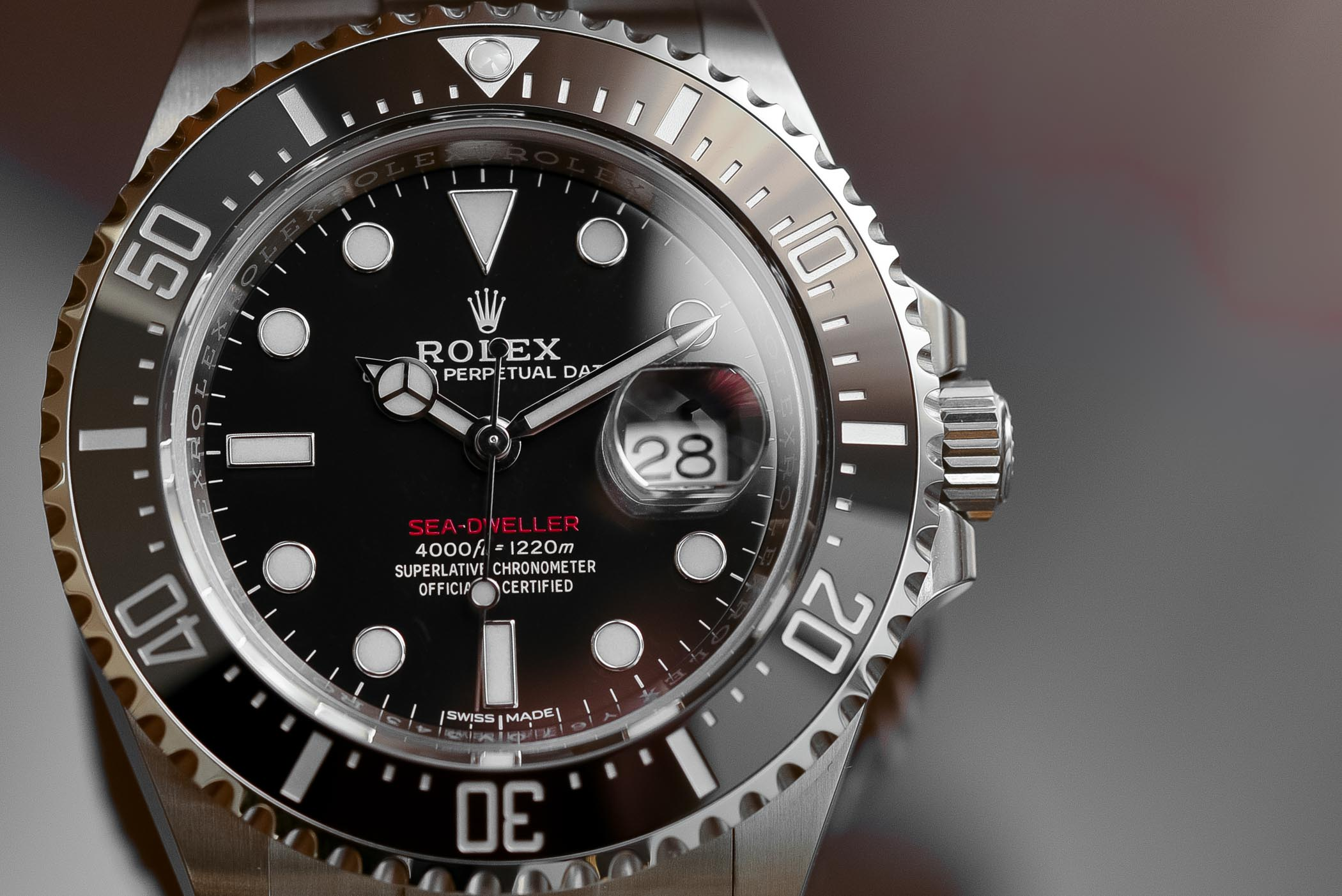 Review Rolex Sea Dweller 43mm Ref 126600 Single Red