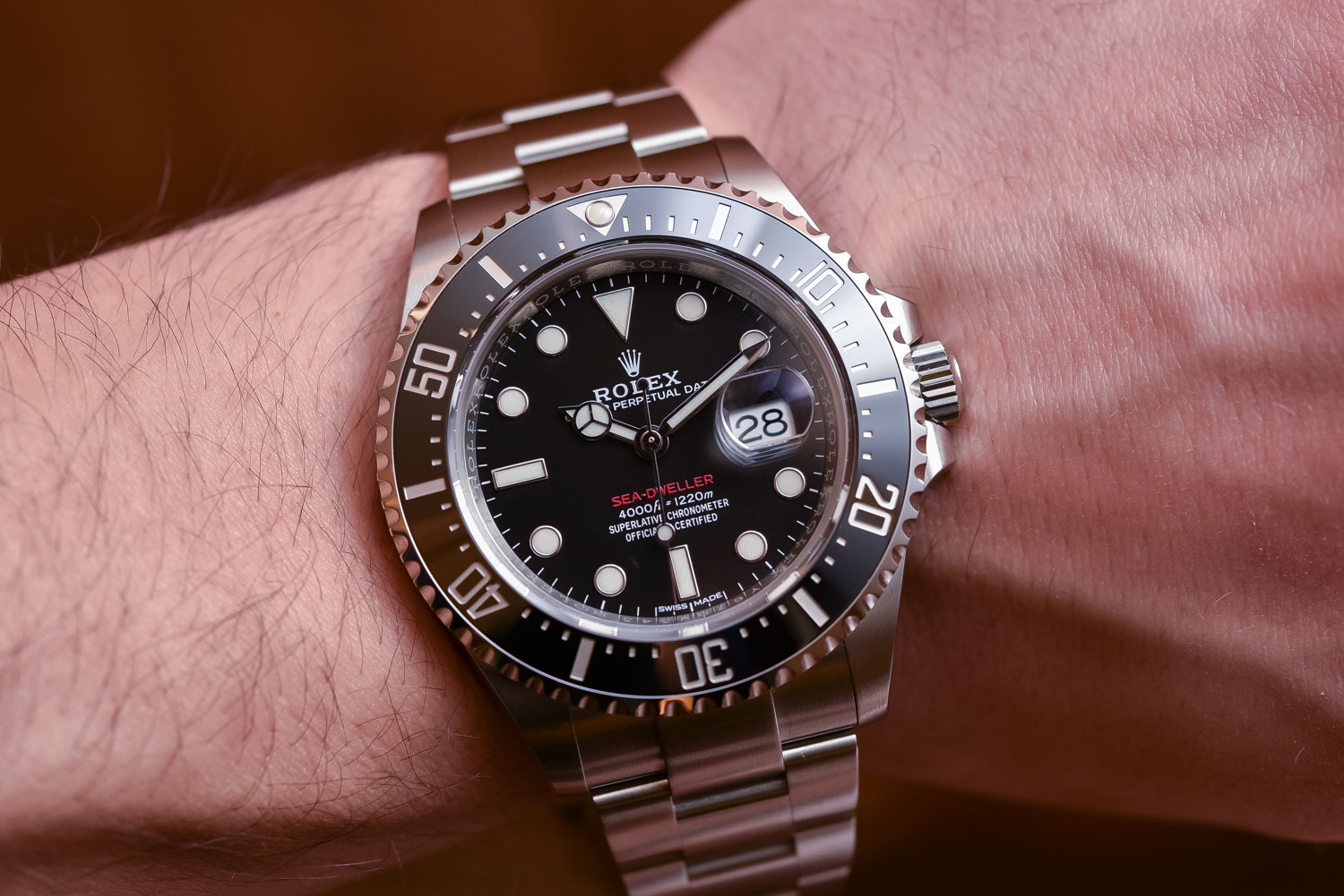 Rolex sea-dweller 126600 43mm red text - Top 10 Baselworld 2017