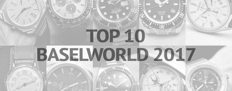 Top 10 Baselworld 2017 Frank Geelen