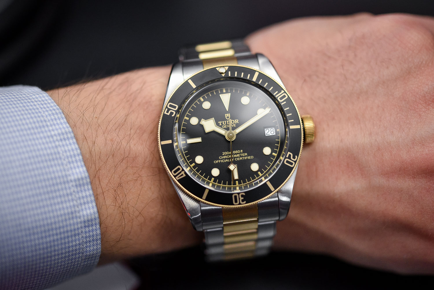 Tudor Black Bay Steel and Gold Date - Top 10 Baselworld 2017