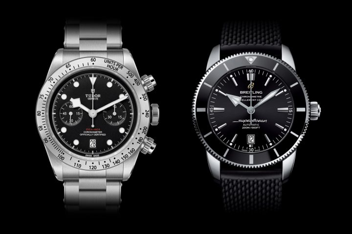 Tudor - Breitling movement Alliance