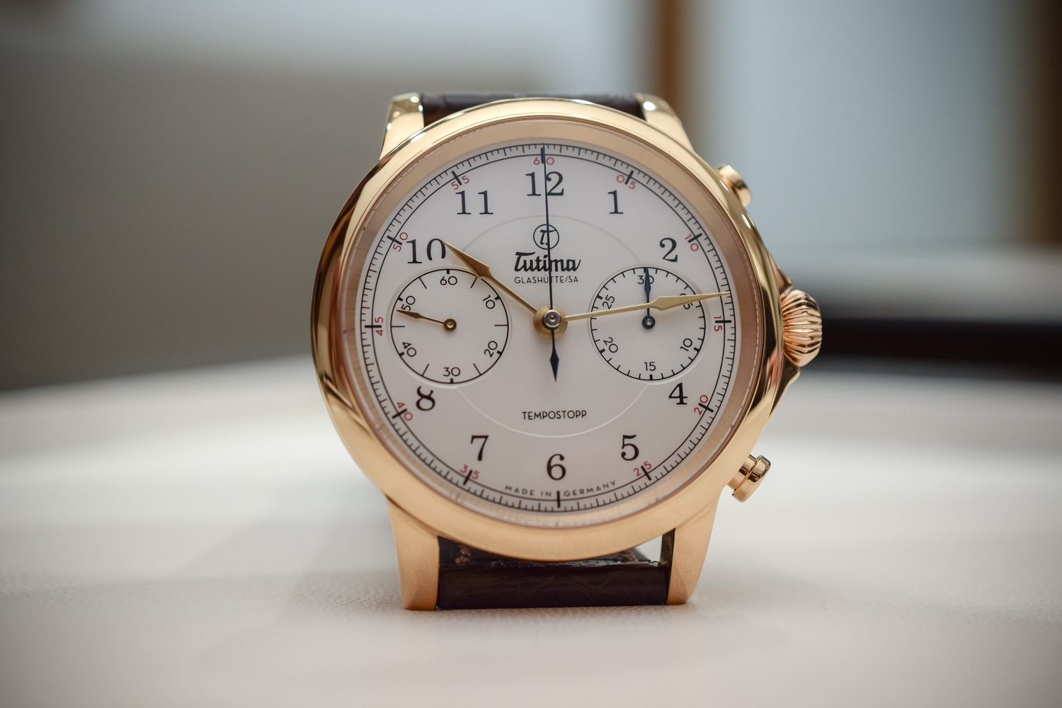 Tutima Tempostopp Chronograph In-house - Baselworld 2017
