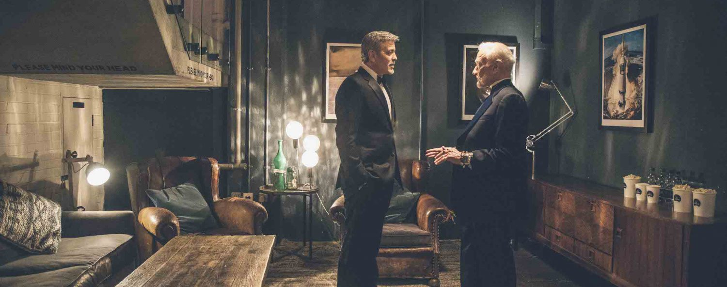 Buzz Aldrin and George Clooney 60th Anniversary Omega Speedmaster