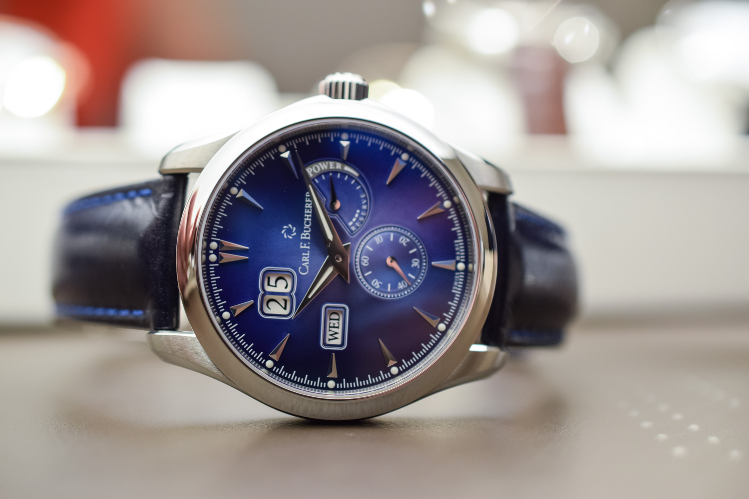 Carl F Bucherer Manero PowerReserve Blue