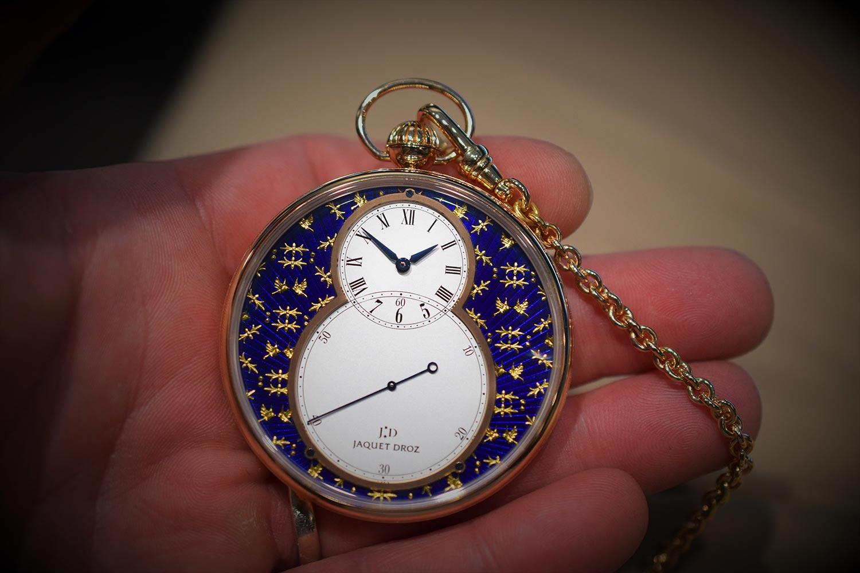 The Grande Seconde Paillonné Pocket Watch