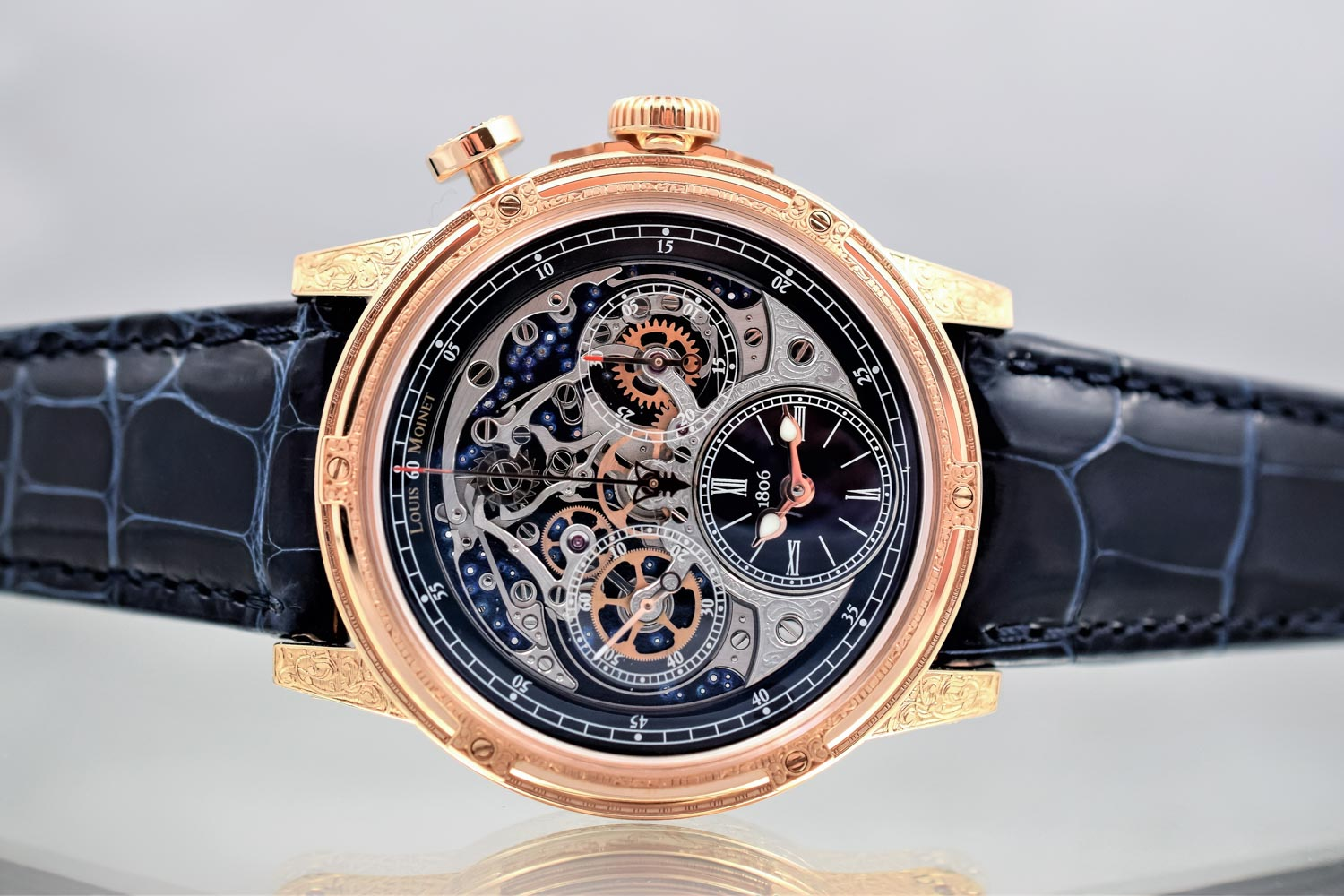 Louis Moinet Memoris Red Eclipse Chronograph