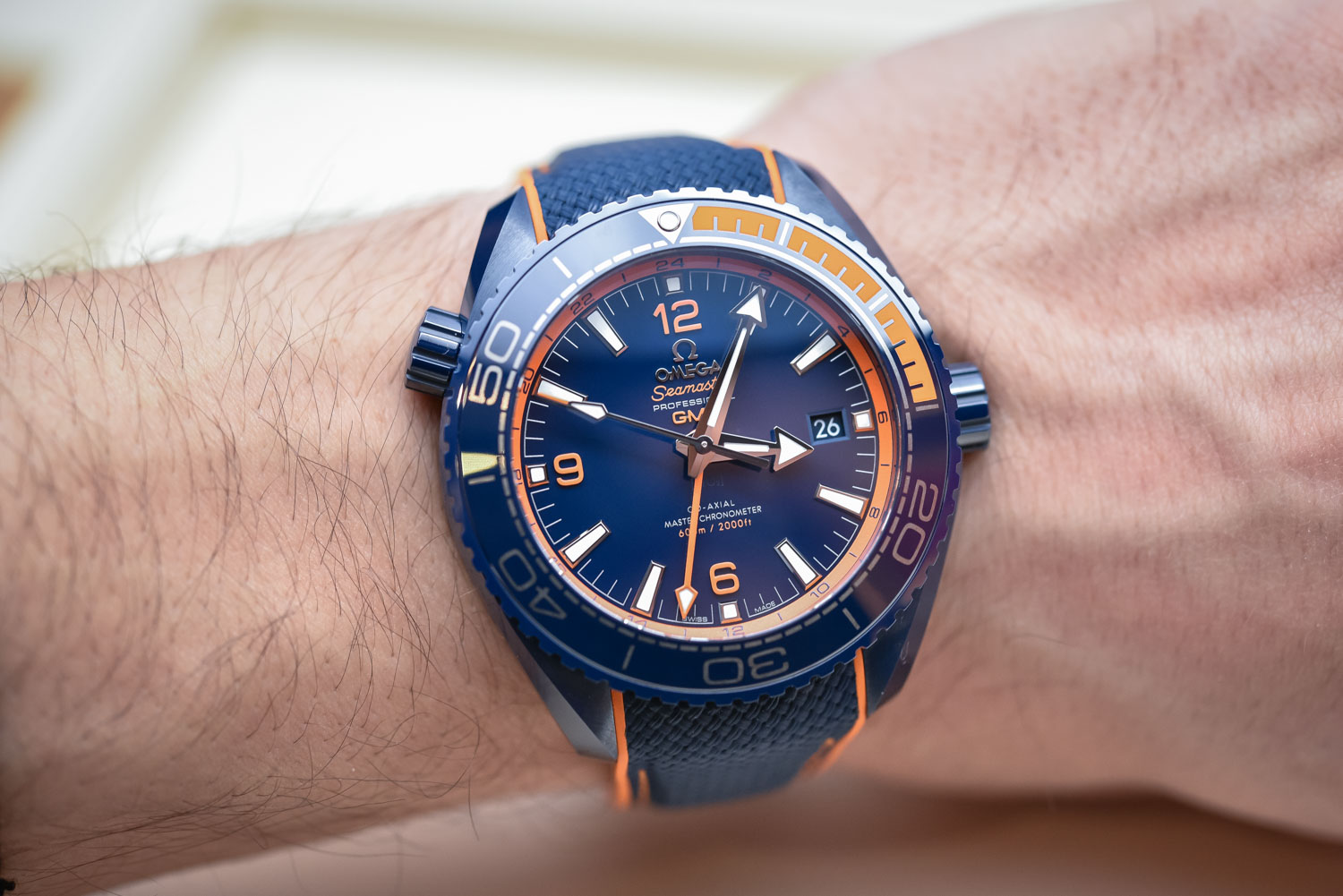 Omega Seamaster 600 Planet Ocean Big Blue