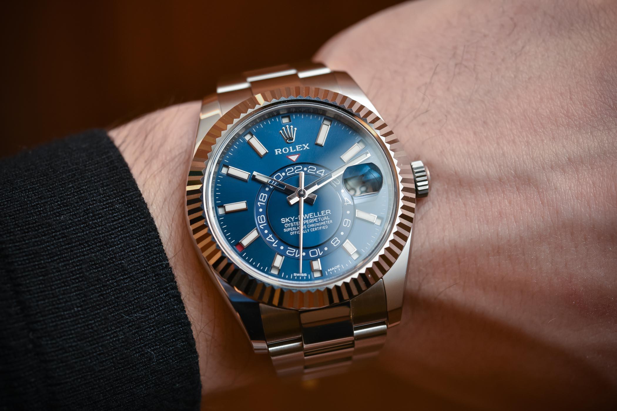 Rolex Sky-Dweller Steel 326934