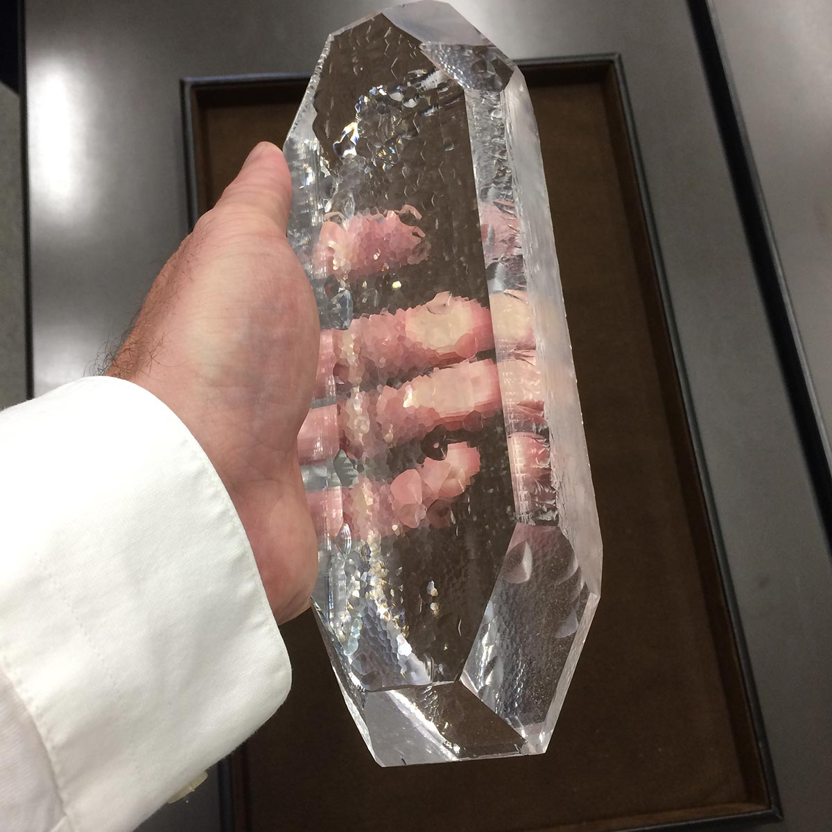Seiko Quartz Crystal in my hands