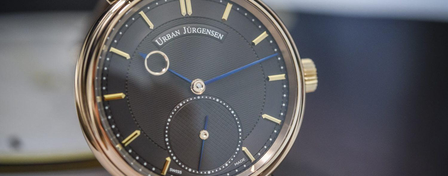 Urban Jurgensen 1140RG Brown Dial