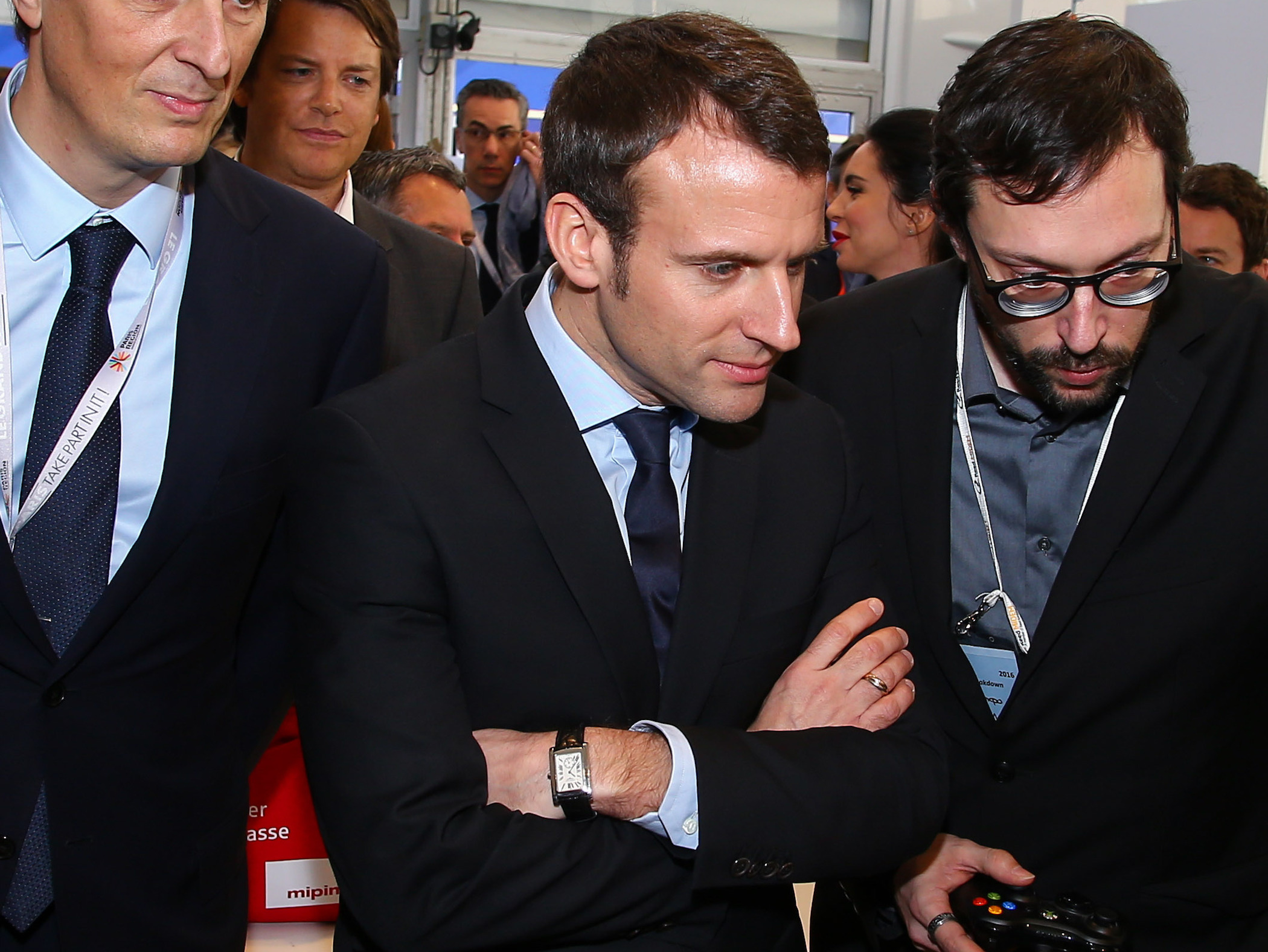 SPOTTED – What's On The Wrist Of Emmanuel Macron, The New French President?