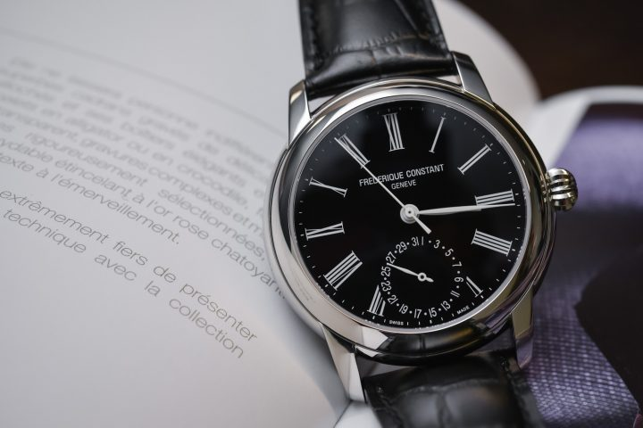 Elegant Yet Accessible – Frederique Constant Classic Manufacture with Black Dial