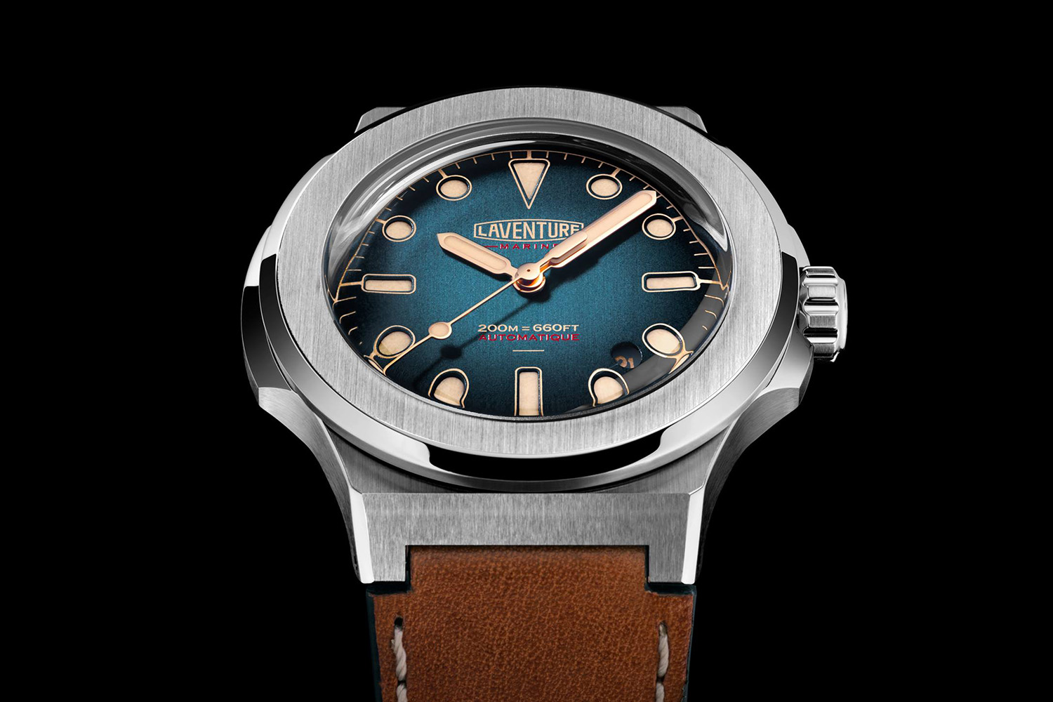Launching on kickstarter laventure marine watch for Marine watches