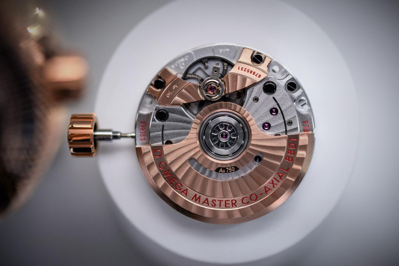 Omega Calibre Master Chronometer Co-Axial 8801