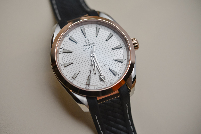 f829b1e0432 The 2017 Omega Seamaster Aqua Terra Master Chronometer 41mm - Review ...
