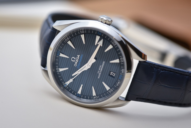 37b22d6e6 The 2017 Omega Seamaster Aqua Terra Master Chronometer 41mm - Review ...