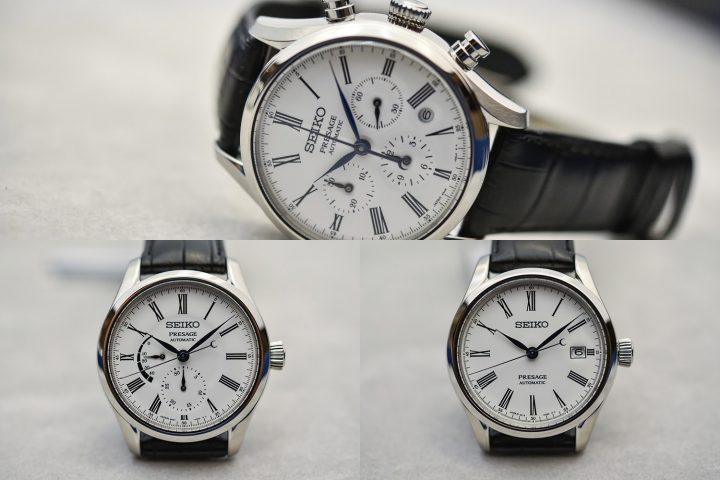 Seiko Presage Enamel Collection (Chronograph SRQ023, Multi-hand SRQ023, Automatic SPB047) - Review