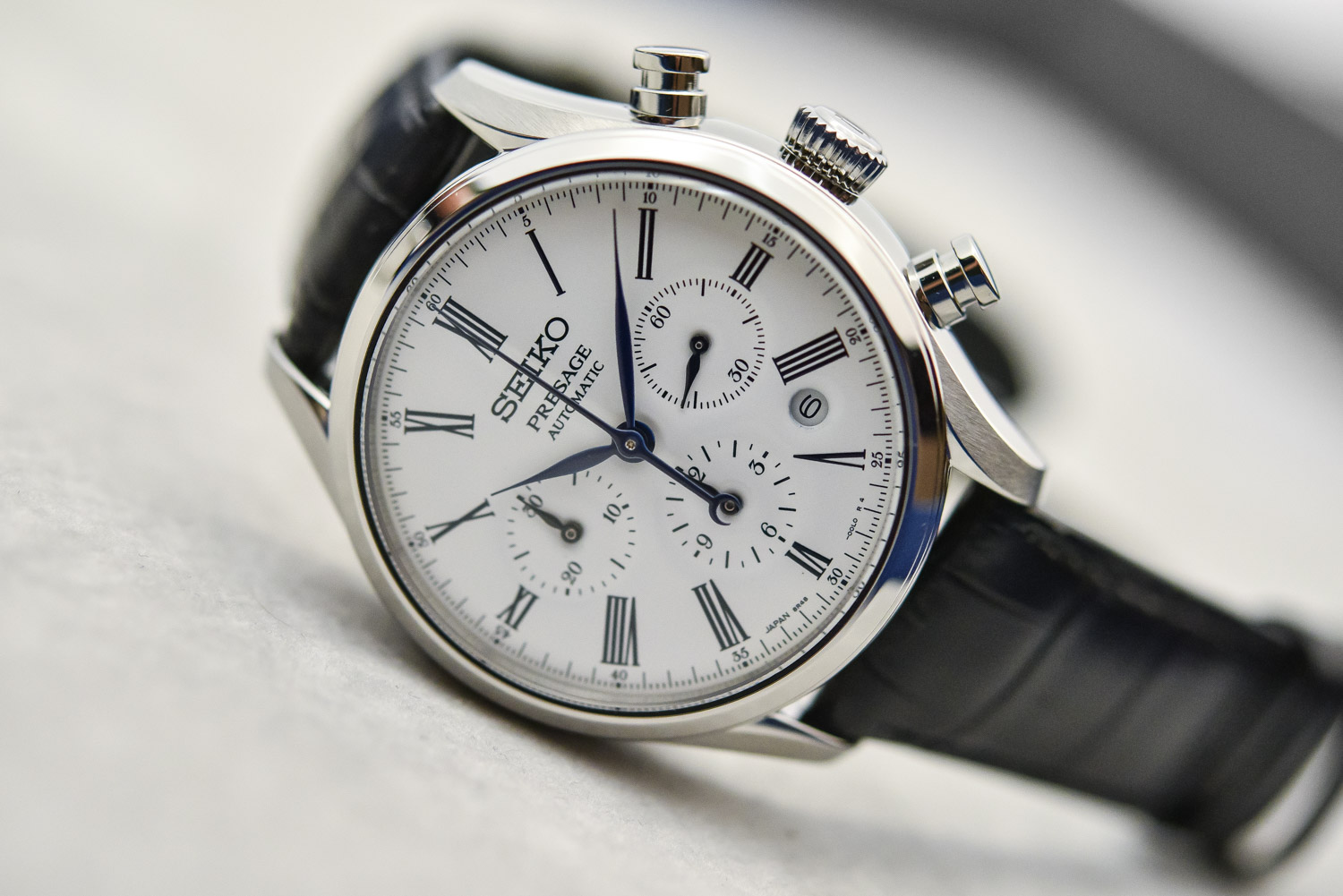 Seiko Presage Enamel Collection Unlimited - Presage Enamel Chronograph SRQ023