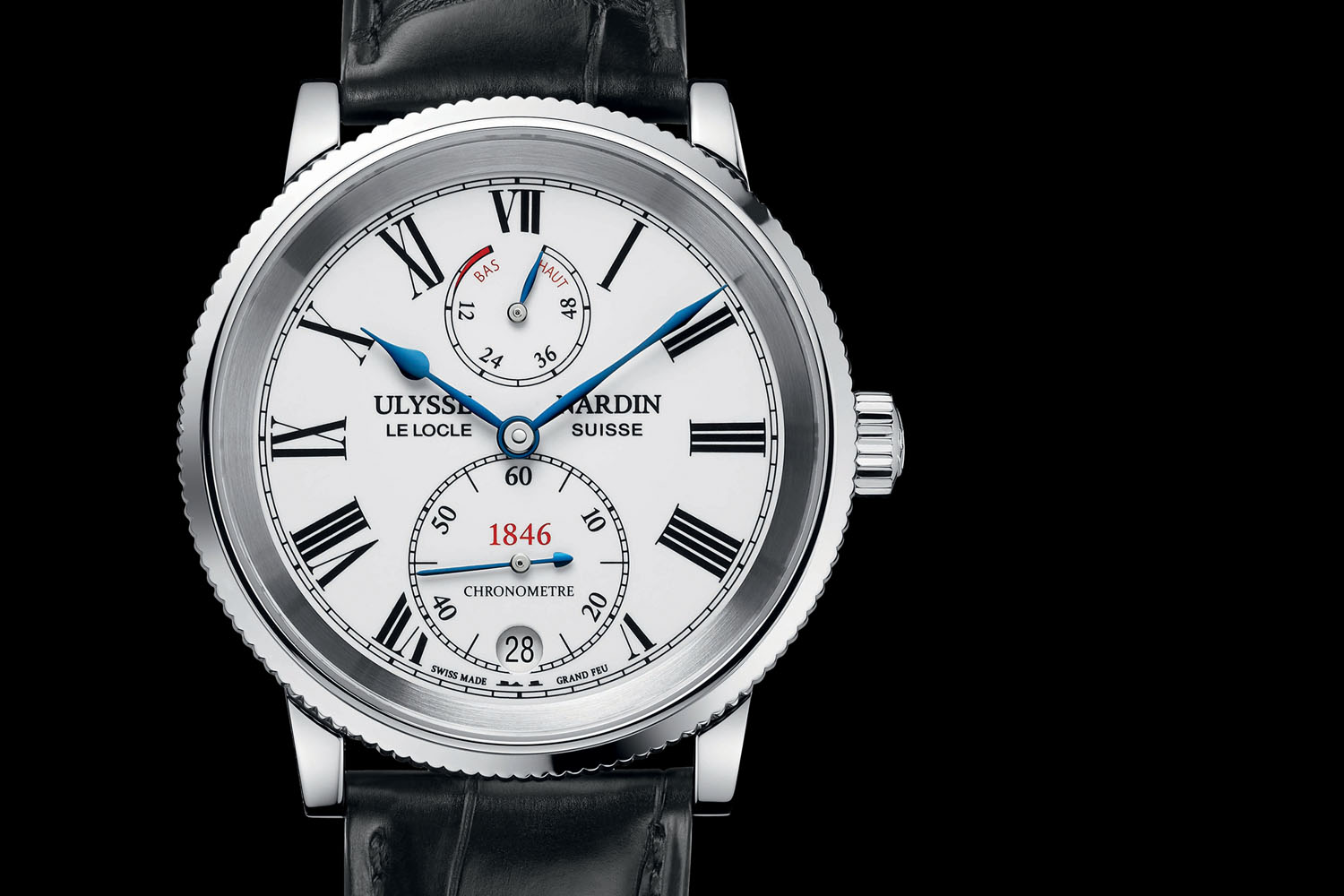 Introducing – Ulysse Nardin Marine 1846, A Classical Take On The Legendary Marine Collection