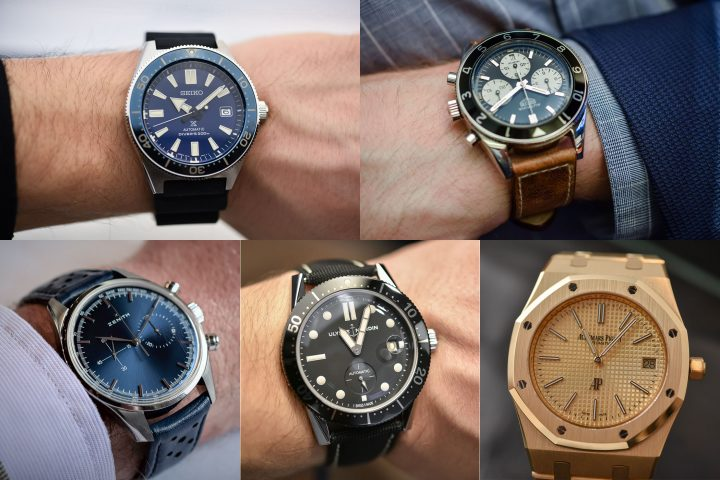 buying guide - 5 vintage inspired watches of 2017