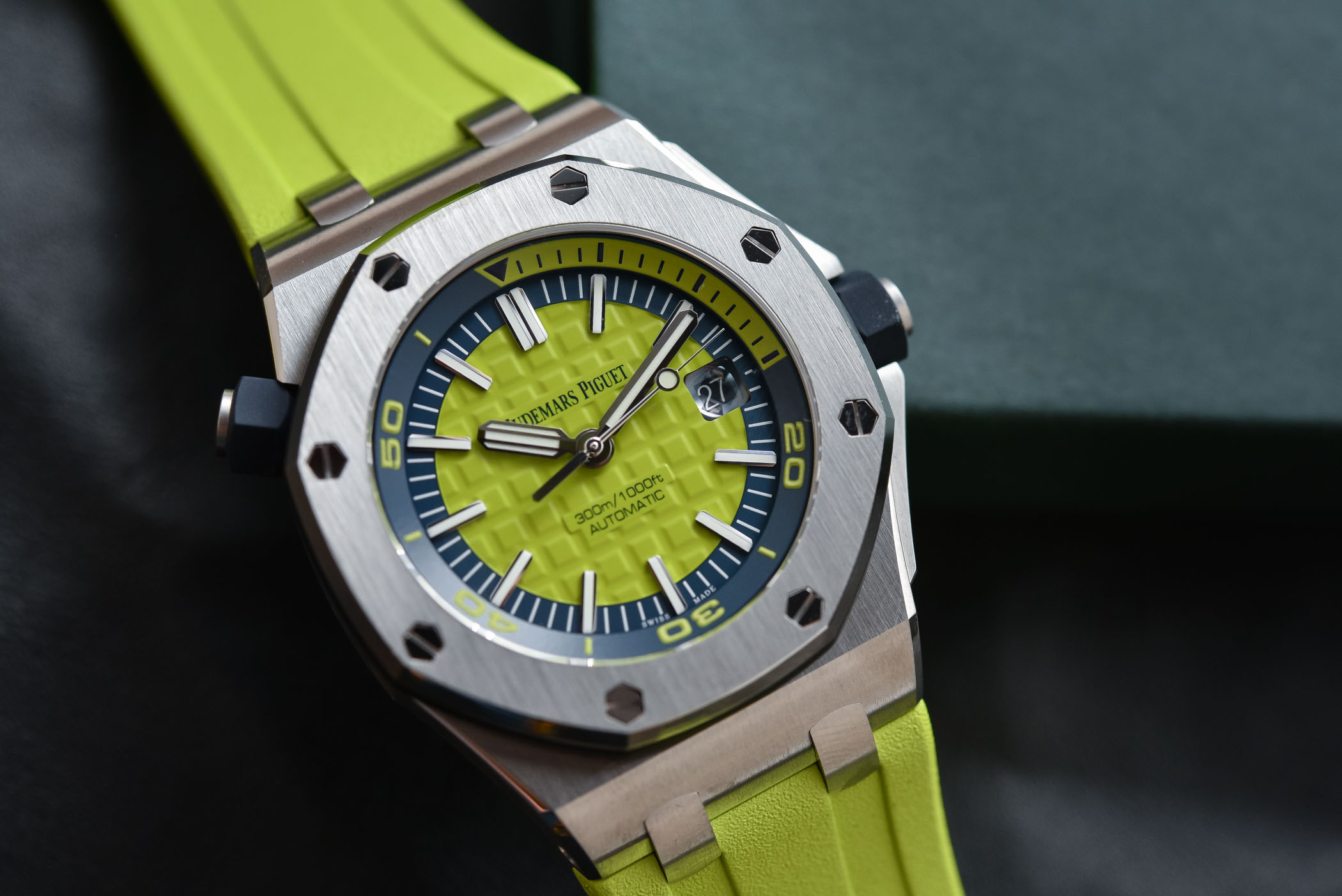 Audemars Piguet Royal Oak Offshore Diver colorful 2017 Collection