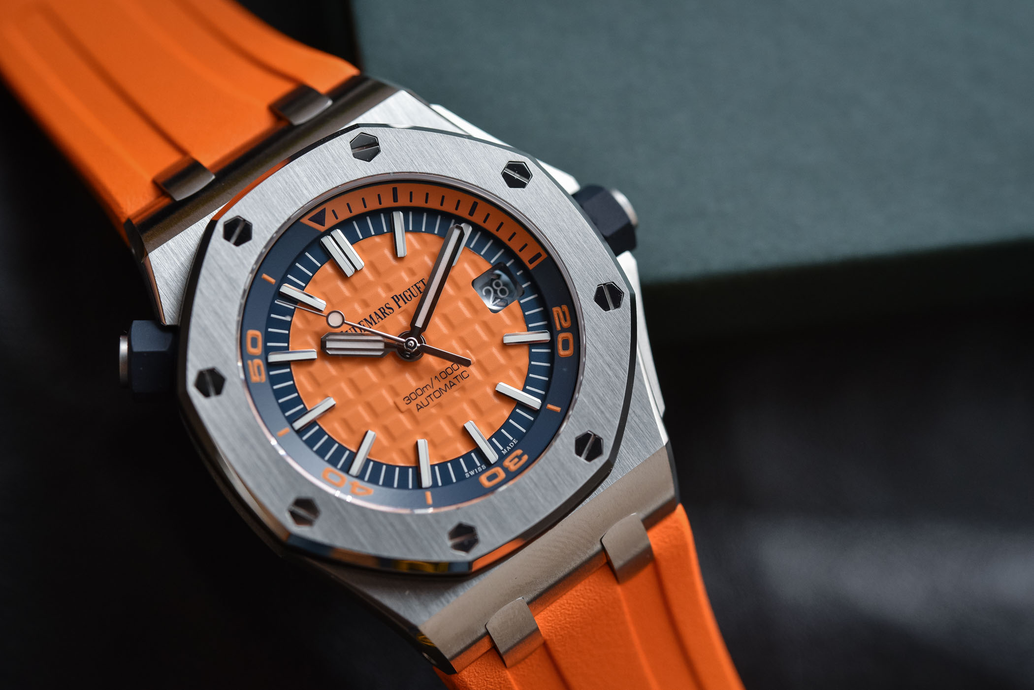 Calendar Design Options : Audemars piguet royal oak offshore diver funky colors