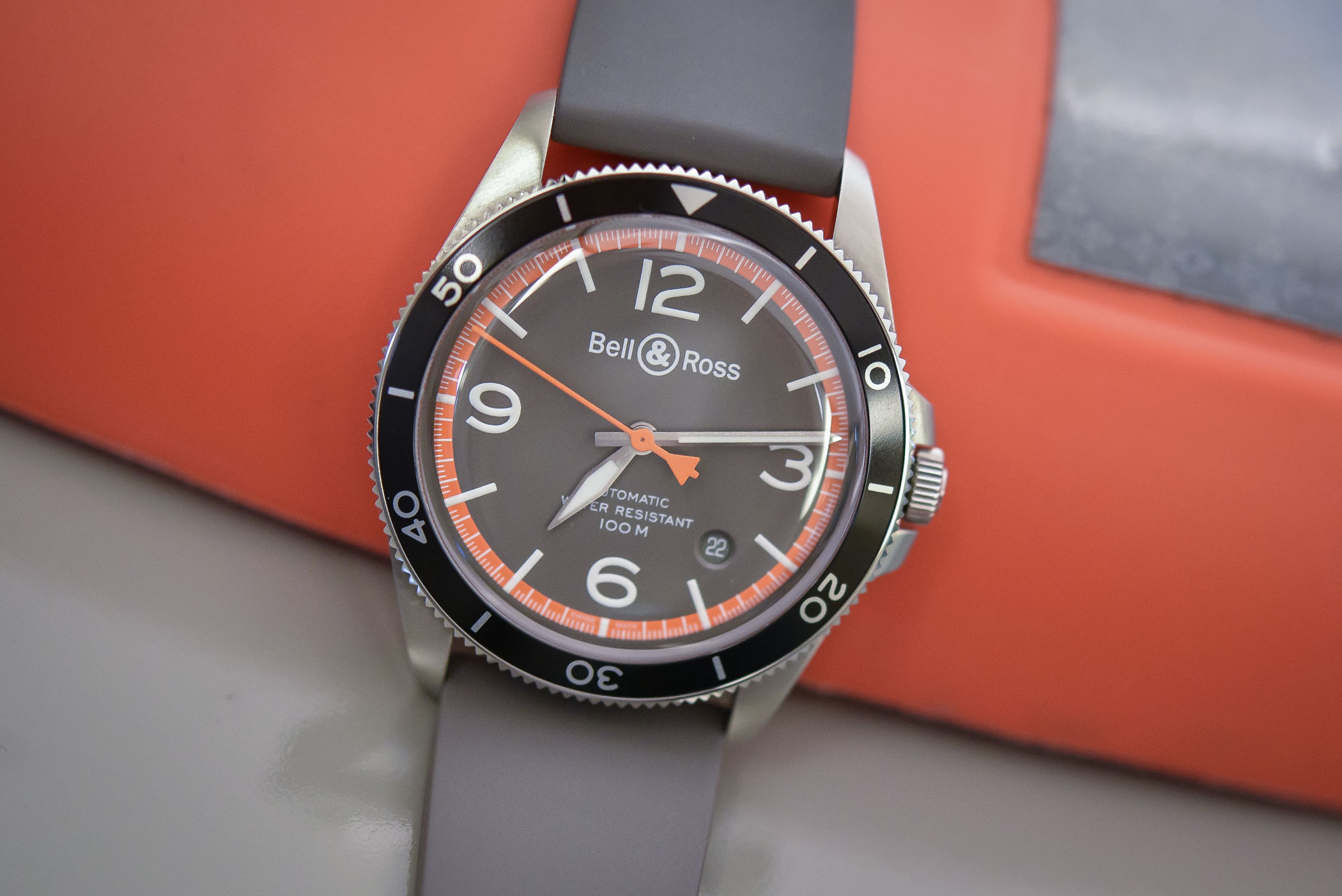 pics Bell Ross Go Orange With A New AeroGT Timepiece
