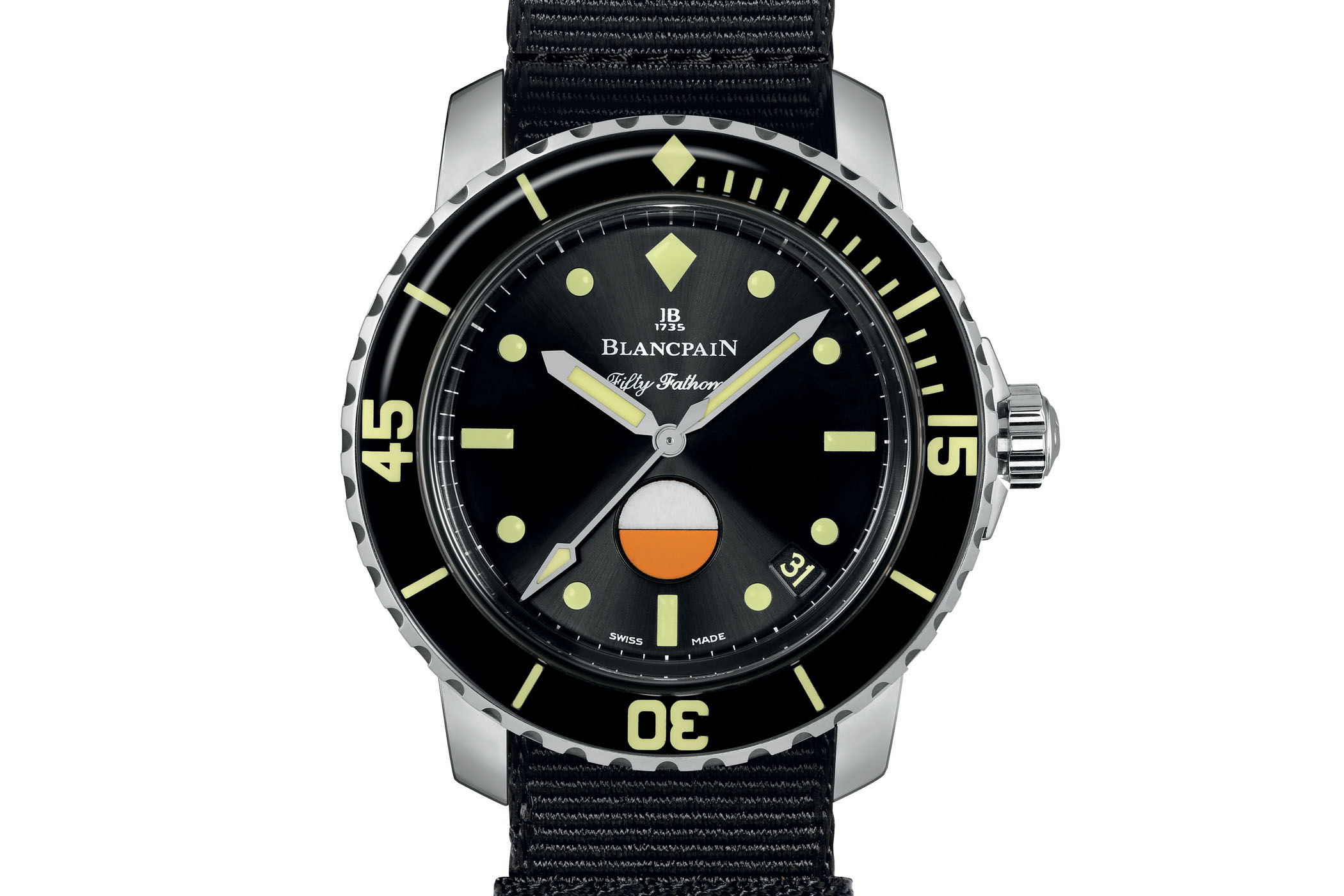 Blancpain Tribute to Fifty Fathoms MIL-SPEC Only Watch unique piece