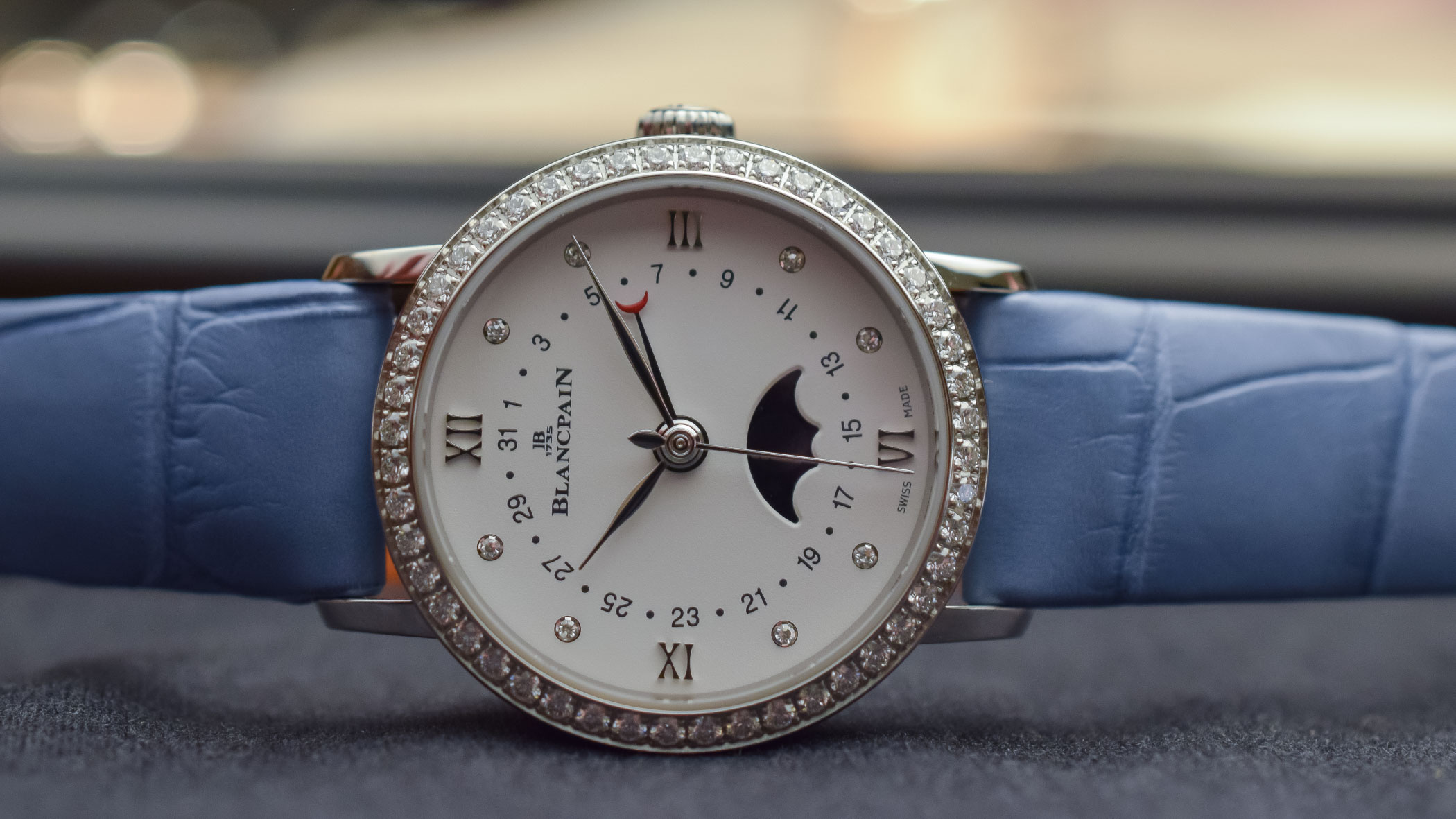 Blancpain Villeret Quantième Phases de Lune Ladies watch