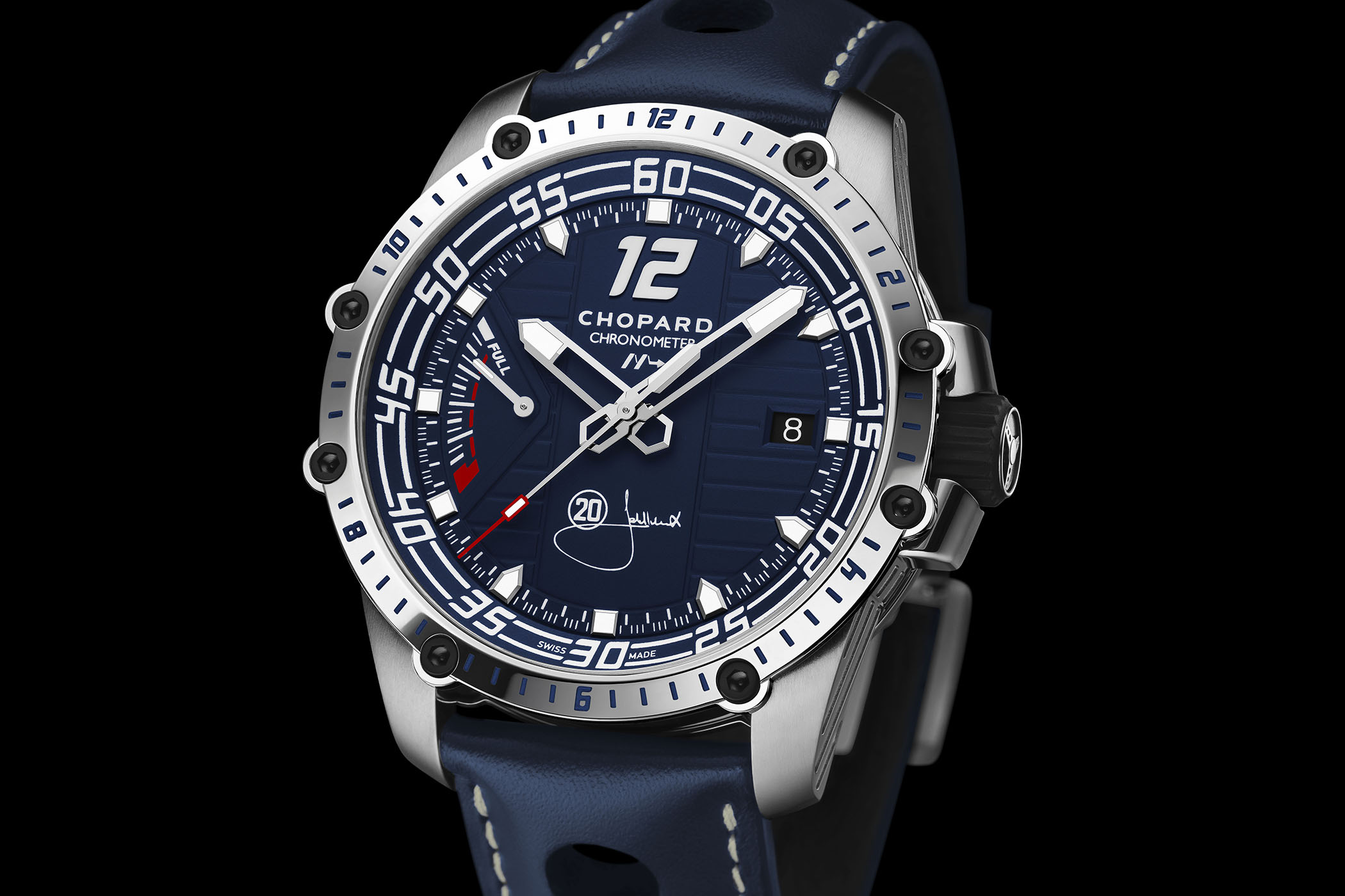 Only Watch 2017 – Chopard Superfast 8Hz, With Unique High-Beat Movement (And a Weekend at Monaco Historique GP with Legend Jacky Ickx)